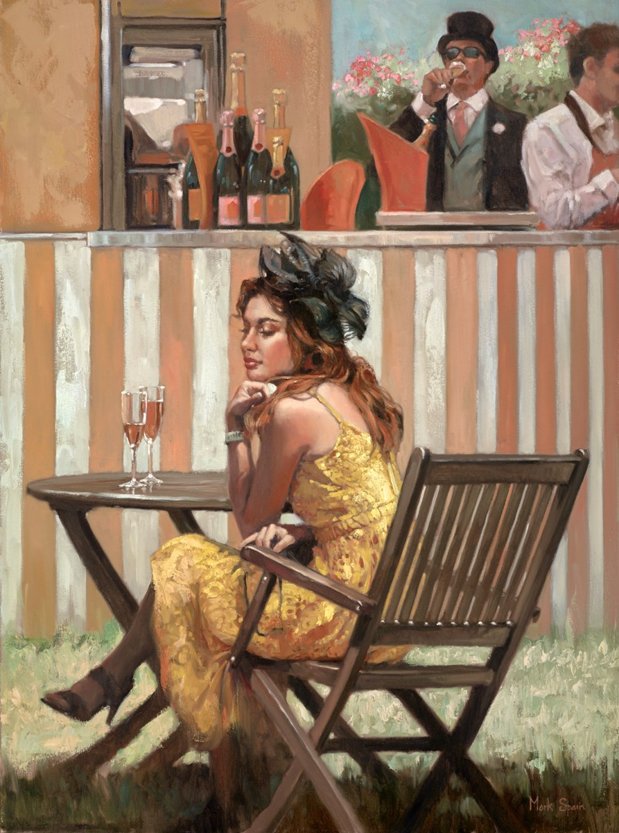 Waiting for a Friend by mark spain -  sized 24x32 inches. Available from Whitewall Galleries